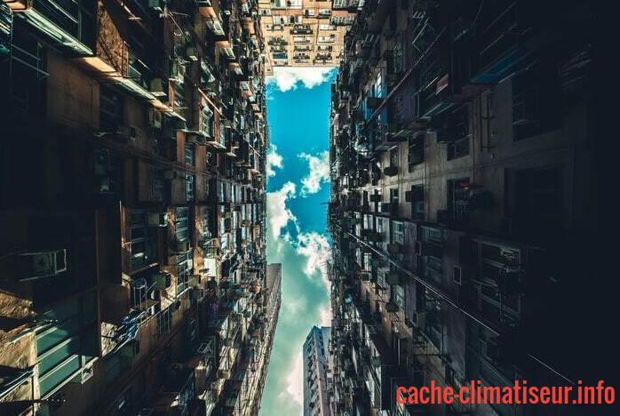 Cache Climatiseur En PVC